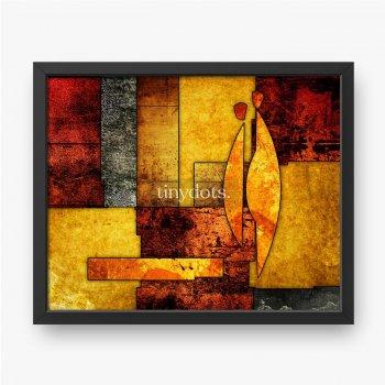 Ölgemälde der abstrakten Kunst
