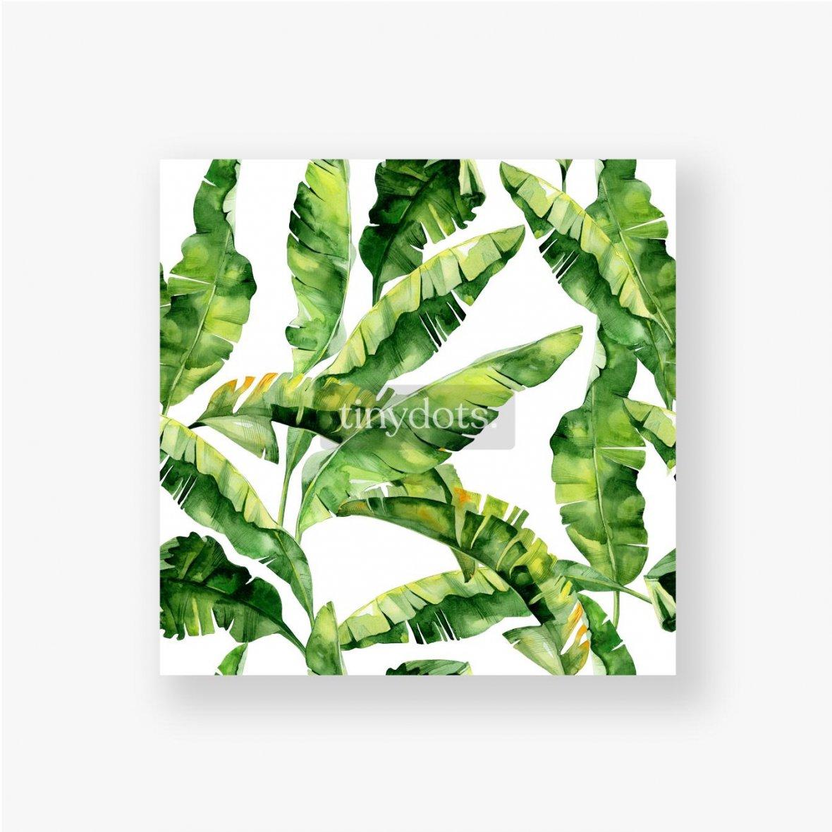 Poster Tropische Monsterblätter