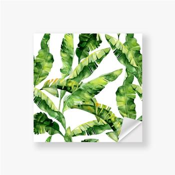 Aufkleber Tropische Monsterblätter
