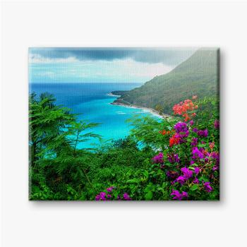 Leinwandbilder Herrliche karibische Landschaft