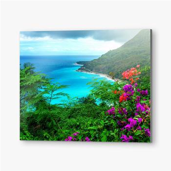 Bilder auf Alu-Dibond Herrliche karibische Landschaft
