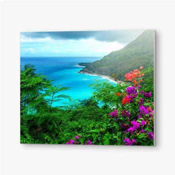 Bilder auf PVC Herrliche karibische Landschaft
