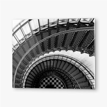 Bilder auf Acrylglas Leuchtturm Checker Board