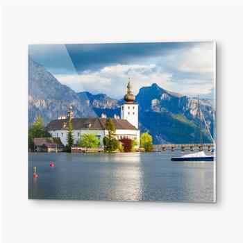 Bilder auf Acrylglas Gmunden Schloss Ort, Österreich
