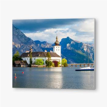 Bilder auf PVC Gmunden Schloss Ort, Österreich
