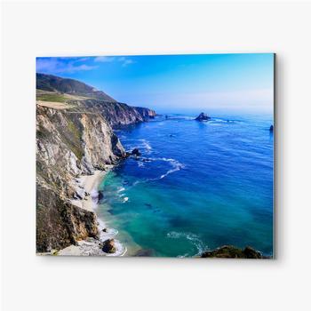 Kalifornische Küste, Vereinigte Staaten.