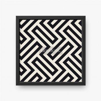 Vektor nahtloses Muster. Moderne stilvolle abstrakte Textur.
