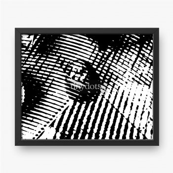 Schwarzer und abstrakter surrealistischer Hintergrund des Weiß. Monochrome dunkle Textur.