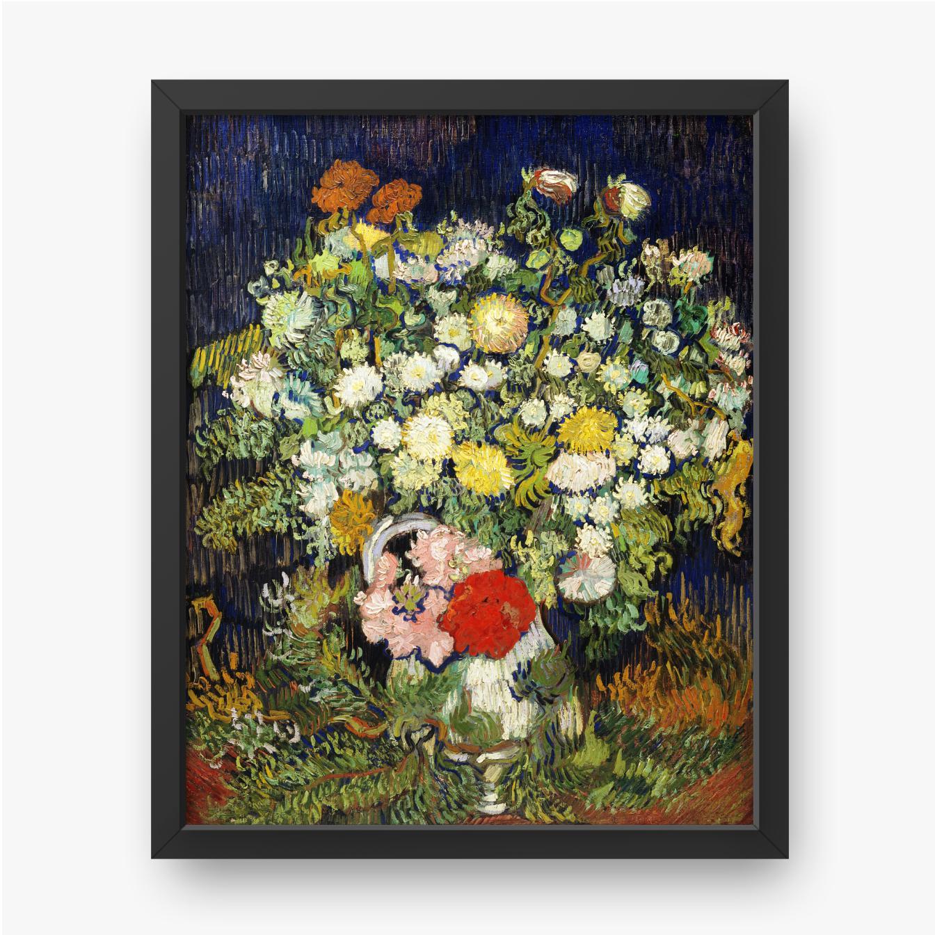 Vincent van Gogh, Bukiet kwiatów w wazonie, 1890