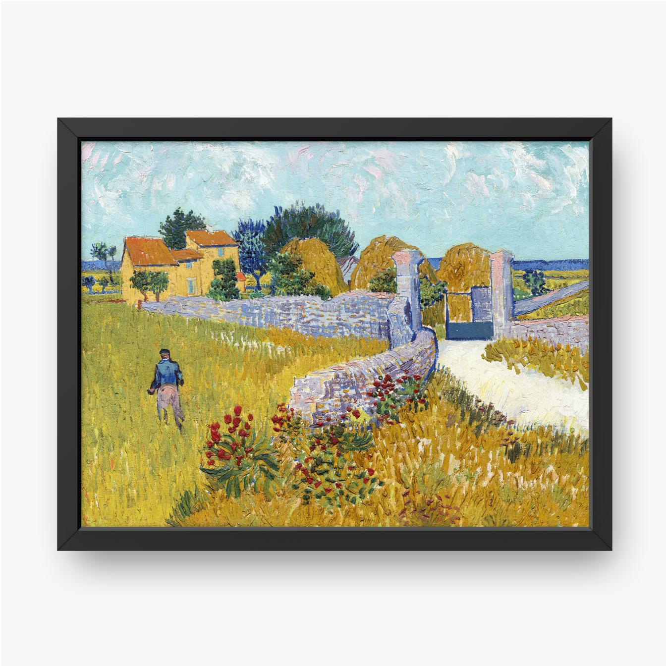 Vincent van Gogh, Gospodarstwo w Prowansji, 1888