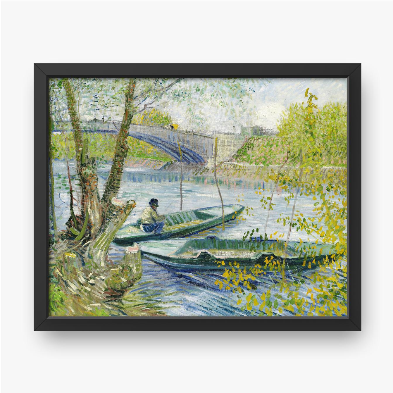 Vincent van Gogh, Łowienie ryb wiosną, 1889