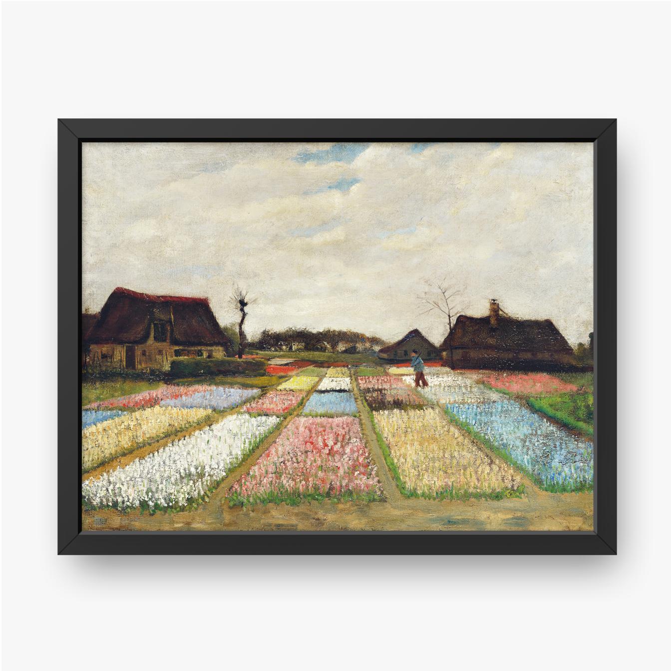 Vincent van Gogh, Rabaty kwiatowe w Holandii, 1883