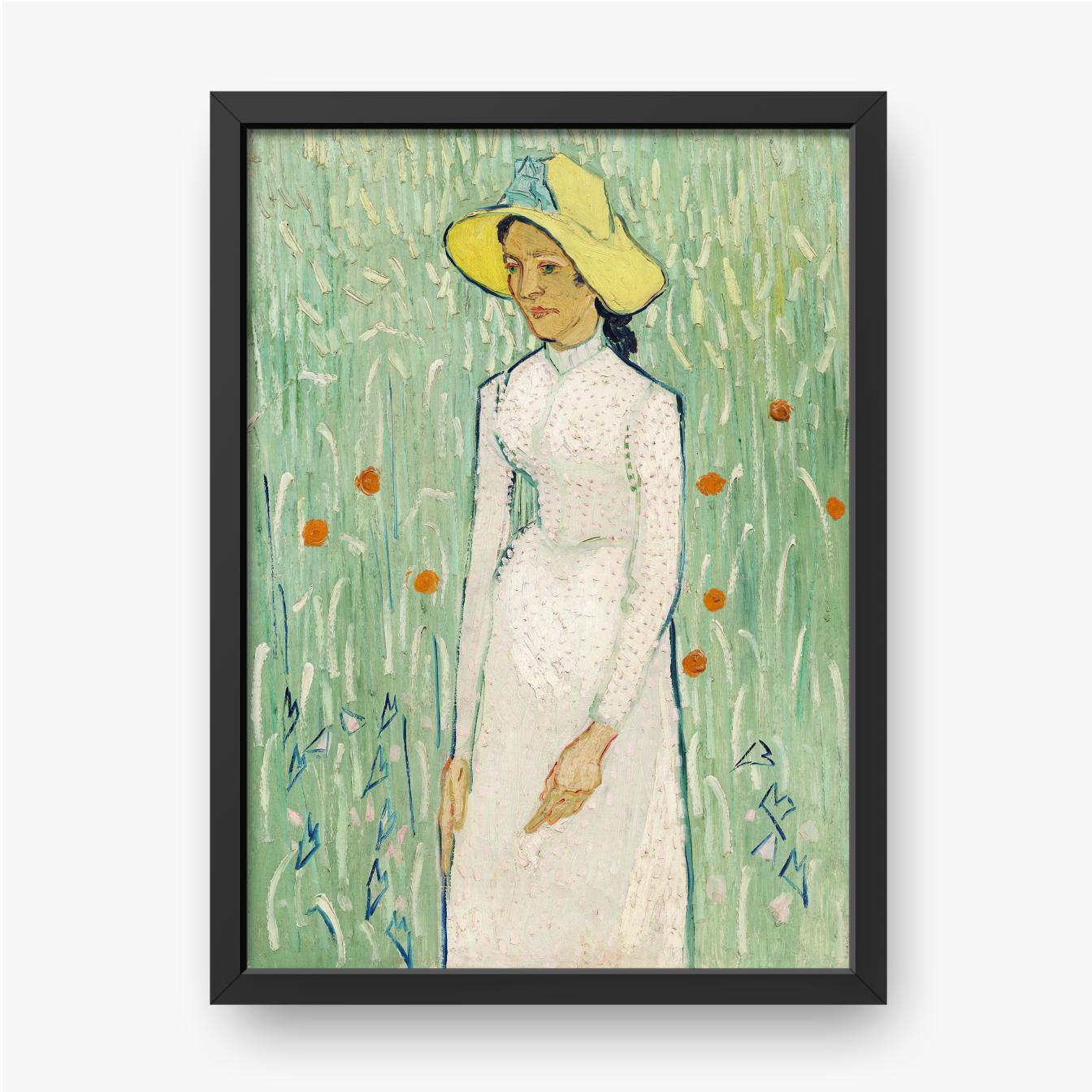 Vincent van Gogh, Dziewczyna w bieli, 1890