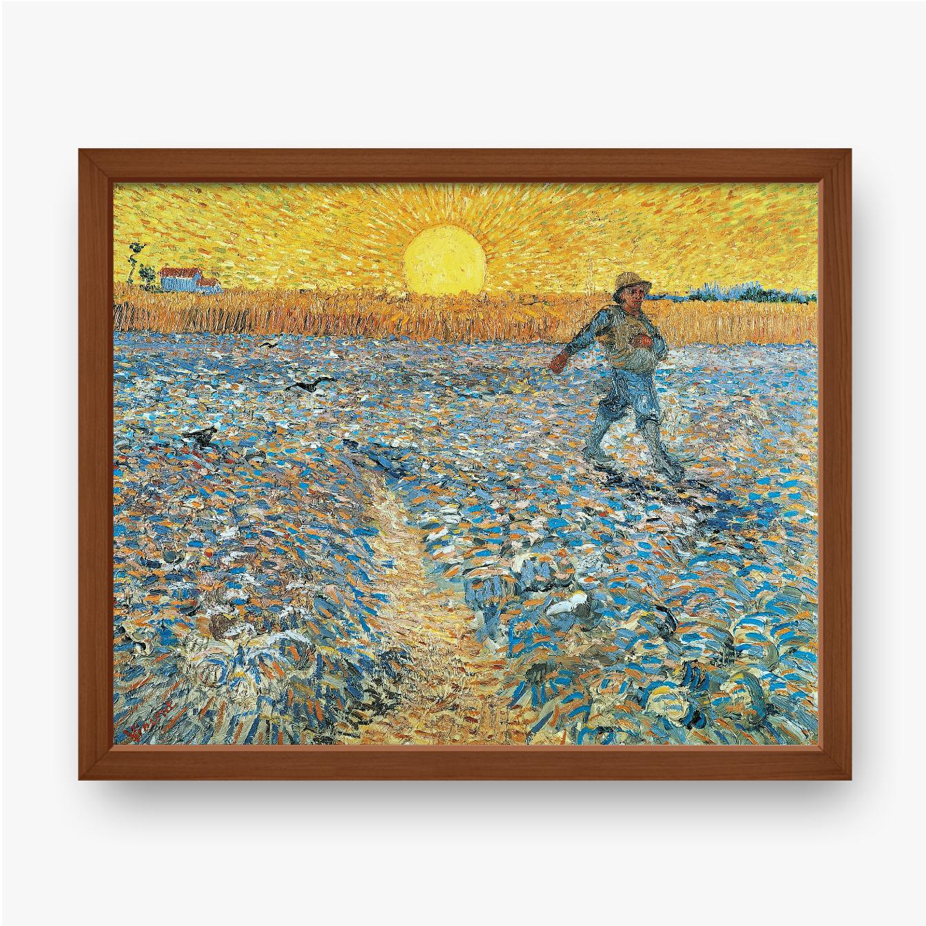 Plakat w ramie Vincent van Gogh, Siewca, 1888