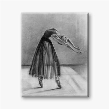 Ballerina im Tanz